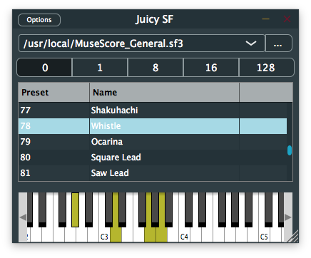 A soundfont VST for macOS